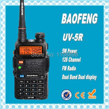 DHL Freeshippin+BaoFeng UV-5R vhf uhf dual band Interphone Transceiver Two Way Radio Handled Intercom Cheap Price CB Radio uv5r(China)