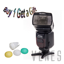 Special Offer buy 1 get1 gift !!! TR-961 Wireless Slave Flash Speedlite work for Canon Nikon as YN-560EX(China)