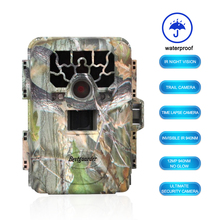 Hunting Camera Waterproof IP66 12mp Infrared Night Vision 0.6-0.8S Trigger 36 IR LEDs IR Scouting Trail Cameras trap(China)