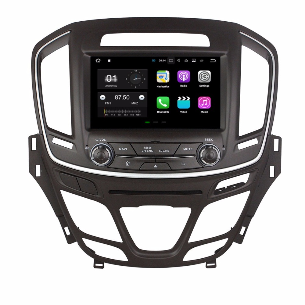 8″ Android 7.1 Car Radio DVD GPS Multimedia Head Unit for Opel INSIGNIA 2014 2015 With 2GB RAM Bluetooth WIFI USB Mirror-link