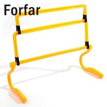 Forfar High Quality Soccer Hurdle Training Barrier Frame Football Mini Hurdle Removeable For Jump Running Soccer Speed Training(China)