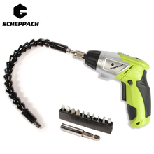 Shceppach 3.6V/7.2V Cordless Electric Screwdriver Parafusadeira 2 IN 1 Household Rechargeable Screwdriver with 6 bits Eu plug(China)