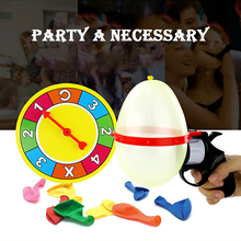 Russian Roulette Party Balloon Gun Model Creative Adult Toys Family Interaction Game Lucky Roulette Tricky Fun Gifts Interactive(China)