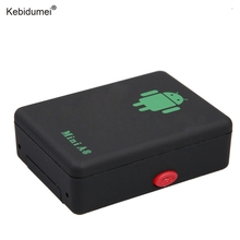 kebidumei Mini A8 GPRS/GSM Tracker Locator Real Time Car Kits Pet No GPS Tracker Tracking Device With SOS Button(China)