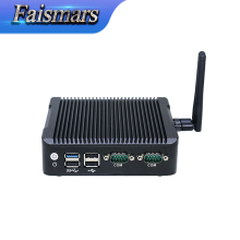 dual com dual lan J1900 mini pc high quality and reasonable price thin client pc support win7 8 8.1 10 linux OS computer station(China)