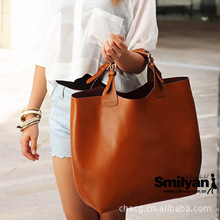 New factory direct wholesale European and American Fan ARA simulation leather handbag with the money bags big bag a generation o