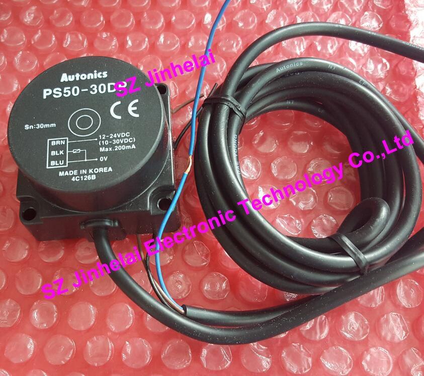 PS50-30DP2, PS50-30DN2  New and original  AUTONICS PROXIMITY SENSOR   12-24VDC<br>