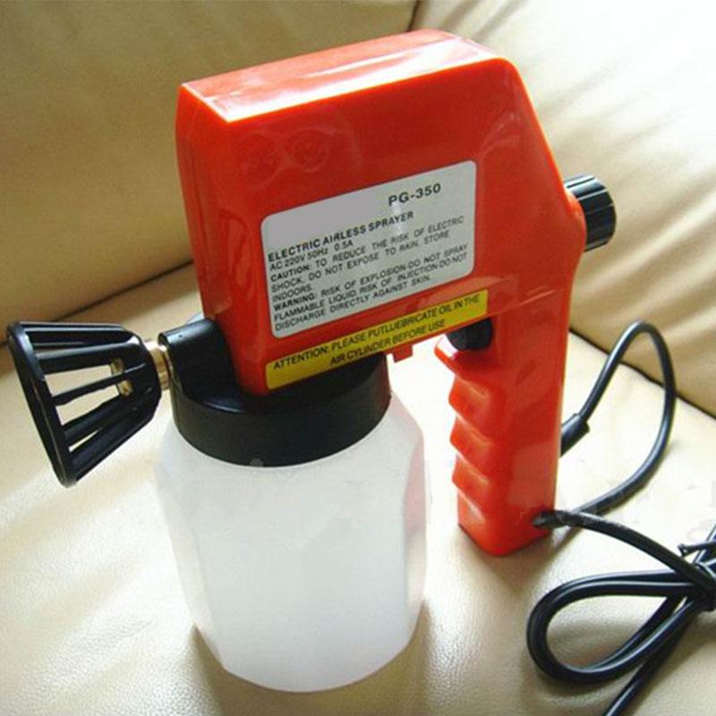 600ml Electric Airless High Pressure Spray Gun Sprayer House Fence Painting Tool<br>