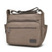 korea style men's travel bags classic Canvas bag men messenger bags high quality brand bolsa feminina shoulder bags