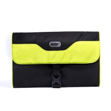 The popular travel can be a small waterproof folding toiletry bag(China)