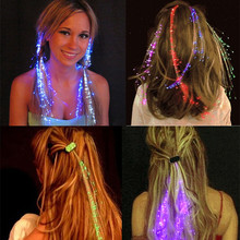 2017 Hot Sale 100pc/lot Led Butterfly Hanging Flash Hair Braid Light Up Hairpin Female Using Party Decoration Club Bar Supplies