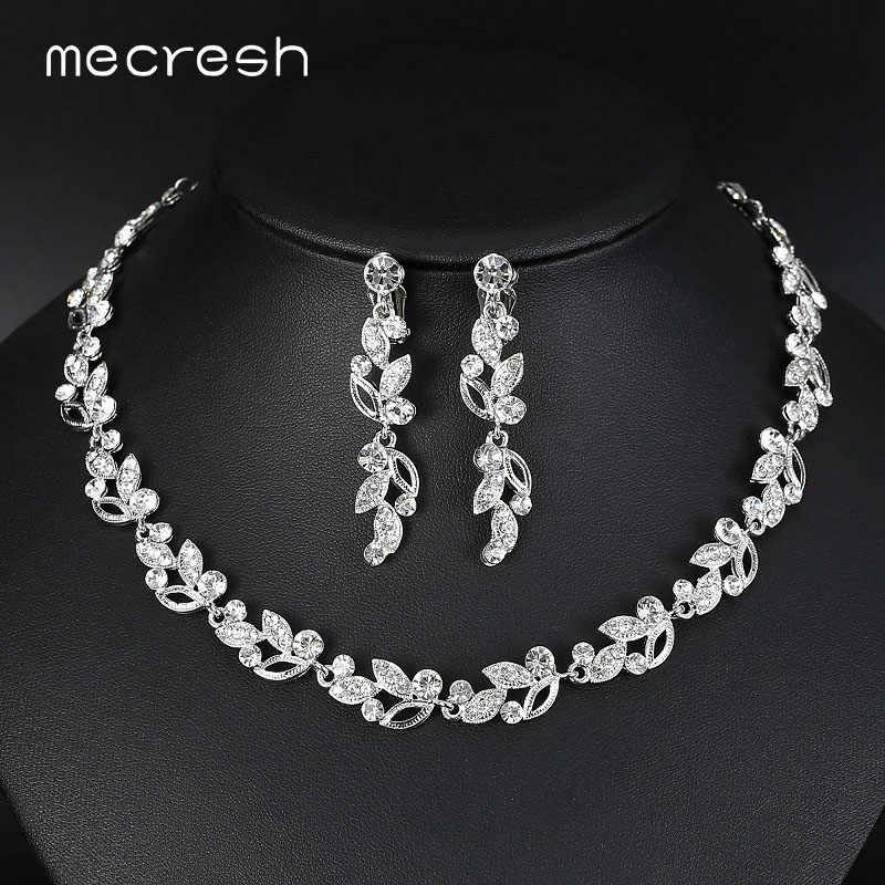 Crystal Wedding Jewelry Sets