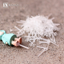 100pcs Micro Landscape garden Decoration Mini Action & Toy dolls Fixed Stick gum terrarium DIY Accessories Landscaping Materials