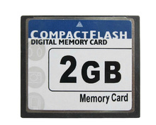 5pcs/lot Compact Flash Card 2GB compact flash cards 2gb compact flash cf card