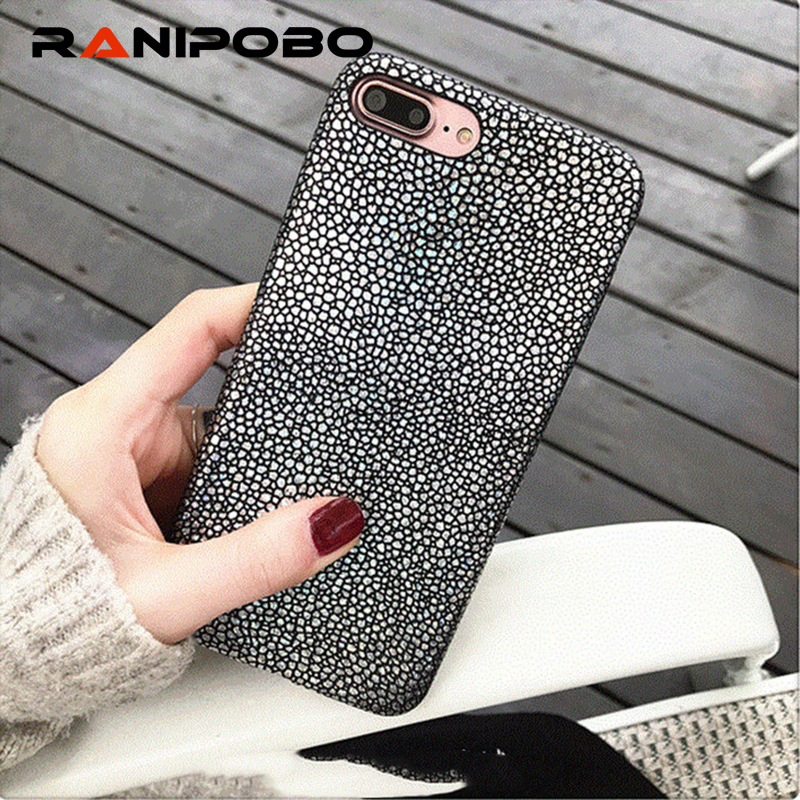 Luxury Bling Mermaid Fish Scales Laser Shining Case iPhone 7 6 6S Plus Soft PU Leather Phone Cover Back iPhone7