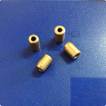 3*7*8mm Copper base powder metallurgical parts Powder Metallurgy oil bushing  porous bearing Sintered copper sleeve