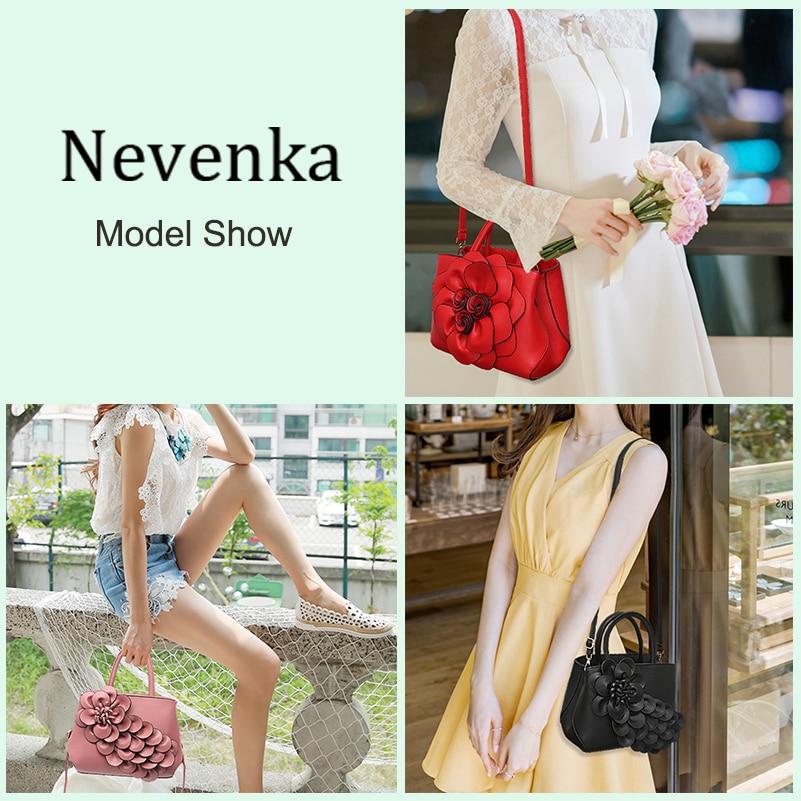Nevenka Handbag Women Floral Handbags Small Shoulder Bags Leather Crossbody Bag for Women Handbags Purses and Handbags 201804