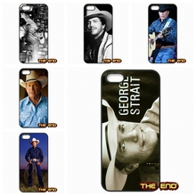 George Harvey Strait American music producer Phone Cases For iPhone 4 4S 5 5C SE 6 6S 7 Plus Galaxy J5 A5 A3 S5 S7 S6 Edge