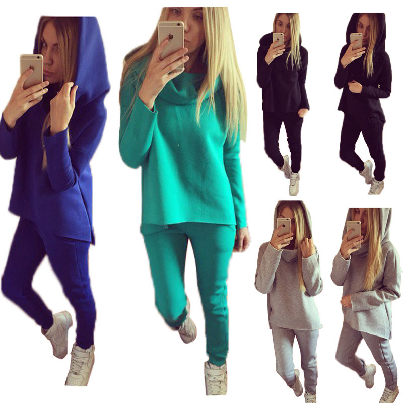 New fashion brand 2017 casual jumpsuit 2 piece ladies women sets rompers women sweat suit full length jumpsuit SMR059(China (Mainland))