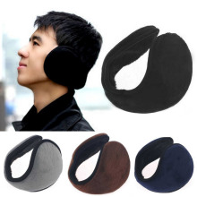 New Hot Winter Men And Women Warm Plush Ear Muffs Ear Warmers Earmuff 4 Colors Free Shipping C1