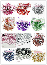 Lucia Crafts Multicolor 5mm ss20 500pcs Resin Flatback Imitated Rhinestones DIY Mobile Phone Nail Art Craft 12040507(500)(China)