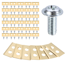 30Pcs Stainless Steel Robot Mower Replacement Blades For Lawn Mower Blades Garden Tools with 60pcs Screws Mayitr