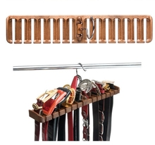 Korea Traditional Best Belt Hanger Closet Organizer of tie rack free shipping(China)