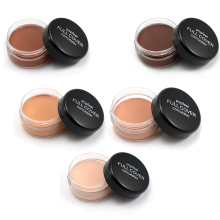 Professional Base Makeup Concealer Foundation Cream 5Color Oil-control Moisturizing Cover Pore Camouflage Contouring Palette