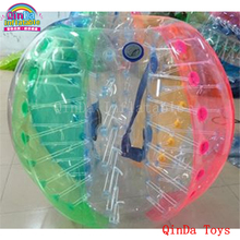 Inflatable human hamster ball with pump,1.2m  bumper ball for kids,inflatable bubble ball for sport event