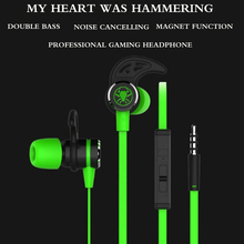 profession gaming PJ003 Headset PK Razer Bass earphone with mic for iPhone xiaomi mi 6 redmi note 3 pro 4 huawei mp3 pc gamer