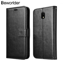 Beworlder For Nokia 3 Case Nokia3 Case Wallet Luxury Card Slot Photo Frame Bags Flip PU Leather Case Stand Retro Phone Cover(China)