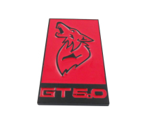 Auto Red Black GT 5.0 for Mustang Coyote 5.0 GT350 Emblem Badge Sticker