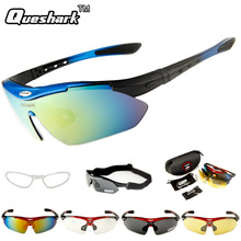 Professional Polarized Cycling Sunglasses Bike Goggles Outdoor Fishing Camping Glasses Sports Bicycle Eyewear With 4 Lens(China)