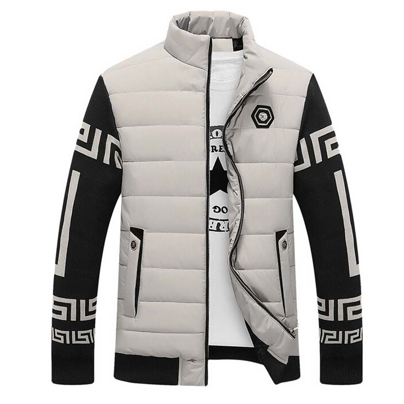 New Korean Men Fashion Warm Parkas Plus Size M-3XL Windproof Casual Outerwear 2015 Men Winter Down JacketsÎäåæäà è àêñåññóàðû<br><br>