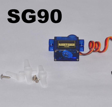 4pcs/lot Mini Micro 9g Smart Electronics Rc Servo SG90 for RC 450 Helicopter Airplane Car Boat(China)