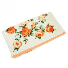 New Arrival Home Hotel Soft Cotton Face Flower Towel Bamboo Fiber Quick Dry Bathroom Towels Facecloth 34*75cm