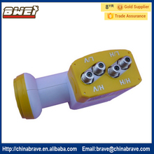 Bowei KU Band Quattro(4 OUTPUT) LNB(China)