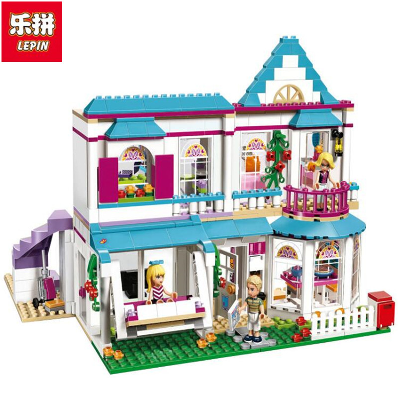 Lepin 622Pcs Genuine Good Friend Girls Series Lepin 01014 The Stephanie\s House Set Building Blocks Bricks with Lepin Friend<br>