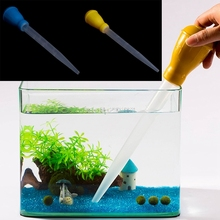 Water Changer Gravel Cleaner Aquarium Clean Tool Fish Tank Siphon Pump Portable H06(China)