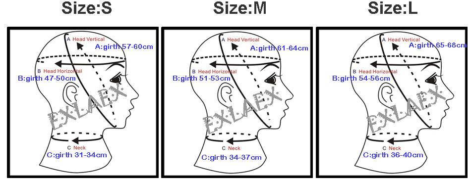 2-1 SIZE CHART