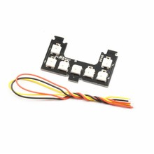Original Colorful WS2812B 7 Bits RGB5050 LED Strip for RC Flight Controller for Helicopter Spare Parts Hot New Accessories