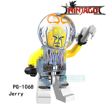 Building Blocks PG1068 Jerry Lantern Fish Lead Crab Hamer Puffer Super Hero Star Wars Bricks Dolls Kids DIY Toys Hobbies Figures(China)
