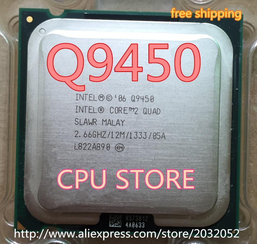 INTEL CORE Q9450 SLAWR 2.66GHZ 12M CACHE QUAD CORE LGA775 CPU PROCESSOR