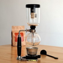Hot sale 5cups syphon technica coffee maker/vacuum coffee pot/Siphon coffee maker/Coffee pot with high quality and great price(China)