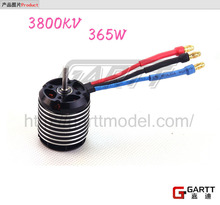 GARTT 3800kv 365w Brushless Motor for 450 Align Trex RC Helicopter