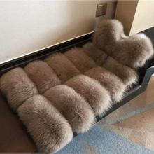 New Arrival 2017 Winter Warm Fashion brand Women Faux Fur Vest Faux Fur Coat Fox Fur Vest Colete Feminino Plus size S-4XL wj1124