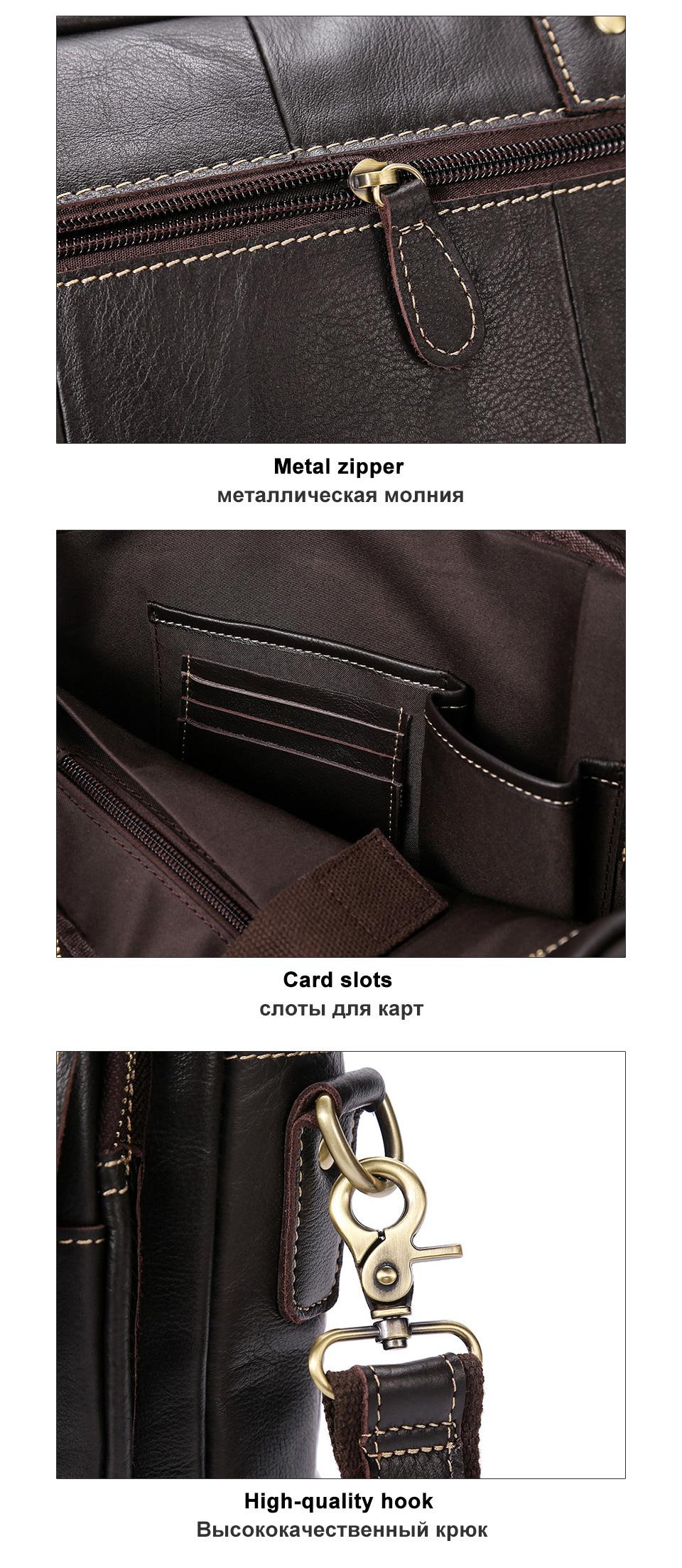 men\`s bag genuine leather