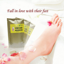 Biological cured liquid cocoon exfoliating dead skin calluses corns foot cocoon feet foot film was dead hand dead