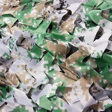 1M*1.5M Hide Digital Pattern Military Camouflage Nets Colorful Forest Hiding Military Training Exercise Strap Cover For Car Tent(China)