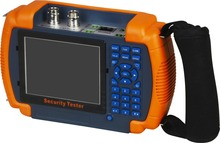 3.5 inch LCD CCTV tester monitor analog CVBS camera tester PTZ control UTP cable video testing 12V output(China)